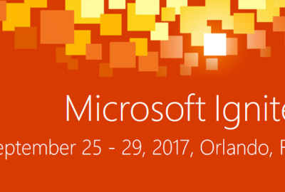 MS Ignite 2017 poster